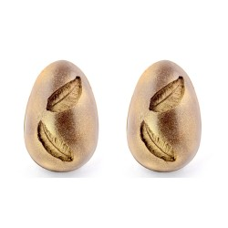 Golden Feather Easter Eggs (2 pack)