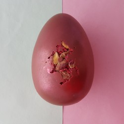 Raspberry & Pistachio Milk Chocolate Easter Egg
