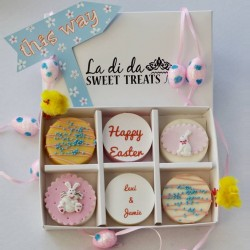 Personalised Easter Coated Oreos
