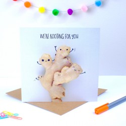 Ginger Good Luck Greeting Card