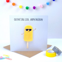 Ice Lolly Birthday Card