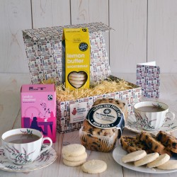 Gluten Free Afternoon Tea Gift The British Hamper Company
