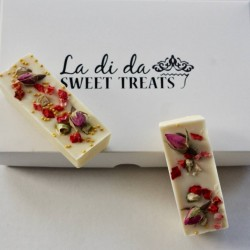 Rose Petal Chocolate Bar Favours