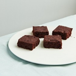 Beetroot & Date Syrup Black Bean Brownies (Dairy, Gluten & Refined Sugar Free)