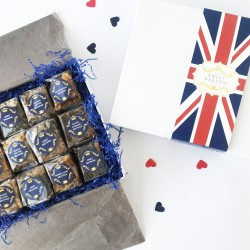 British Indulgent Brownie Gift Box (Gluten Free)