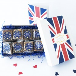 British Luxury Brownie Gift Box (Gluten Free)