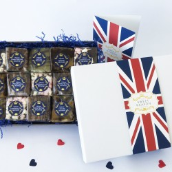 British Indulgent Vegan Brownie Box