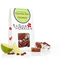 Chocolate Lime Caramels