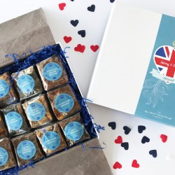 Royal Wedding Indulgent Brownie Gift Box
