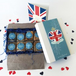 Royal Wedding Luxury Brownie Gift Box