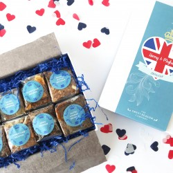 The Royal Wedding Luxury Brownie Gift Box (Gluten Free)