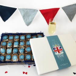 The Royal Wedding Ultimate Brownie Gift Box (Gluten Free)