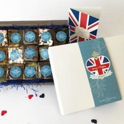 The Royal Wedding Indulgent Vegan Brownie Box