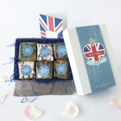 The Royal Wedding Luxury Vegan Brownie Box