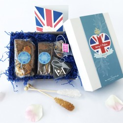 Royal Wedding Raw Vegan Afternoon Tea Box for Two