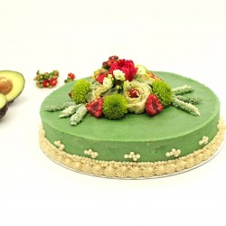 Raw Green Power - Organic Luxury Cake
