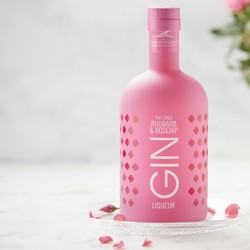 The Lakes Rhubarb and Rosehip Gin Liqueur
