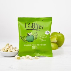 LioBites Freeze-Dried Apple Crisps (15 Packs)