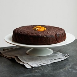 Raw Cacao & Orange Blossom Cake (Dairy, Gluten & Refined Sugar Free)