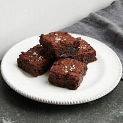 Sour Cherry & Black Bean Brownies (Dairy, Gluten & Refined Sugar Free)