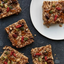 Super Powered Flapjacks (Vegan, Gluten Free, Refined Sugar Free)