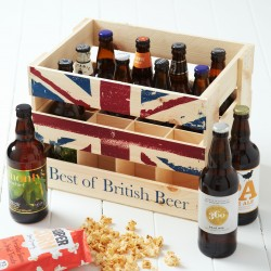 British Beer Crate