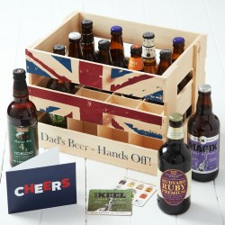 Dad's Beer Crate