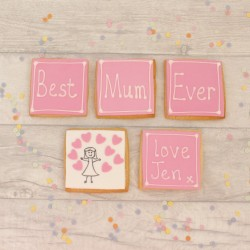 Best Mum Ever Personalised Cookie Set