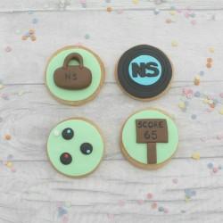 Crown Green Bowling Cookie Set