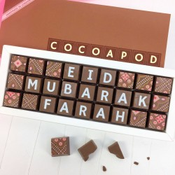 cocoapod personalised eid chocolates