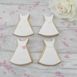 Dress Cookie Set Hen Party Favours Bridesmaid Gift