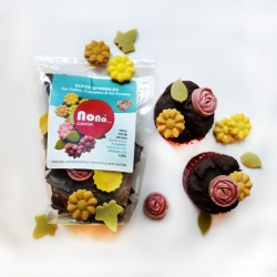 Flowers Super Sprinkles - Nono Cocoa Free From Chocolate - Cake Decoration (Multipack)