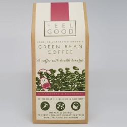 Unroasted Green Bean Coffee - Strawberry & Raspberry Flavour