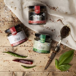 Authentic Ajika Chilli & Herb Paste Selection Pack