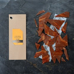 Orange Infused Chocolate Shards
