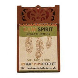 Earl Grey & Nibs Raw Peruvian Chocolate Bars (5 pack)