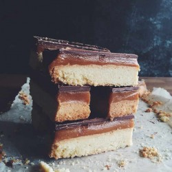 Caramel Shortbread Full Slab