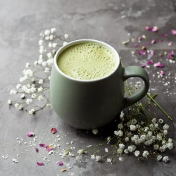 Organic Instant Matcha Latte with Coconut Milk