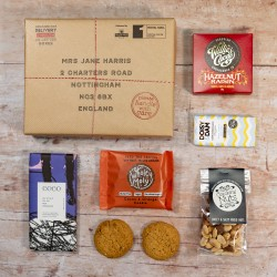 Nuts and Chocolate Letter Box Hamper