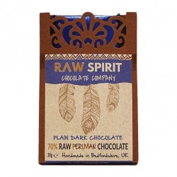 70% Dark Raw Peruvian Chocolate Bars (5 pack)