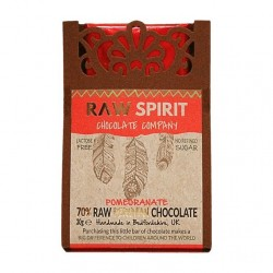 Pomegranate Raw Peruvian Chocolate Bars (5 pack)