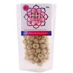 Popped Foxnuts - Classic Ghee & Pink Himalayan Salt