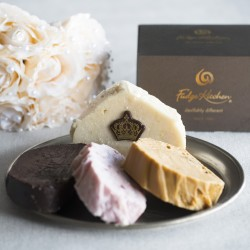 The Royal Box Wedding Fudge Selection - with Lemon & Elderflower Fudge