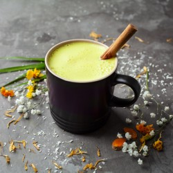 Organic Instant Turmeric Latte with Black Pepper