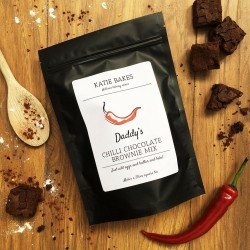 Personalised Chilli Chocolate Brownie Mix