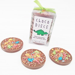 Dinosaur Milk Chocolate Discs