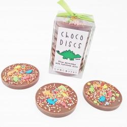 Dinosaur Milk Chocolate Discs