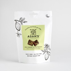 Adam's Cold Pressed Chocolate Goji Berry & Pistachio