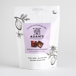 Adam's Cold Pressed Hazelnut & Blackcurrant Chocolate