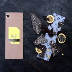 Bitter Lemon Dark Chocolate Shards